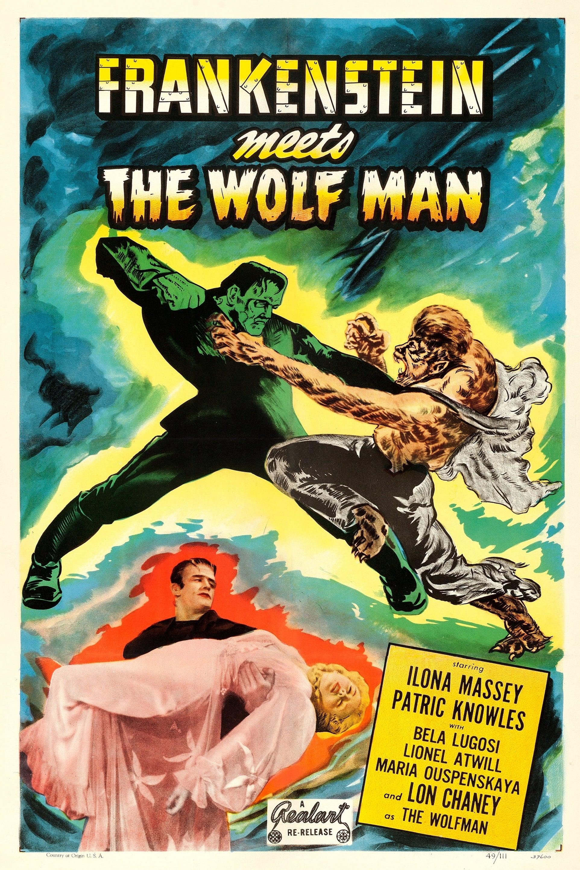 Frankenstein y el hombre lobo