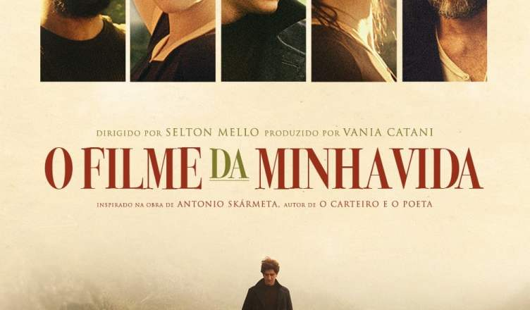 "Poster for the movie ""O Filme da Minha Vida"""