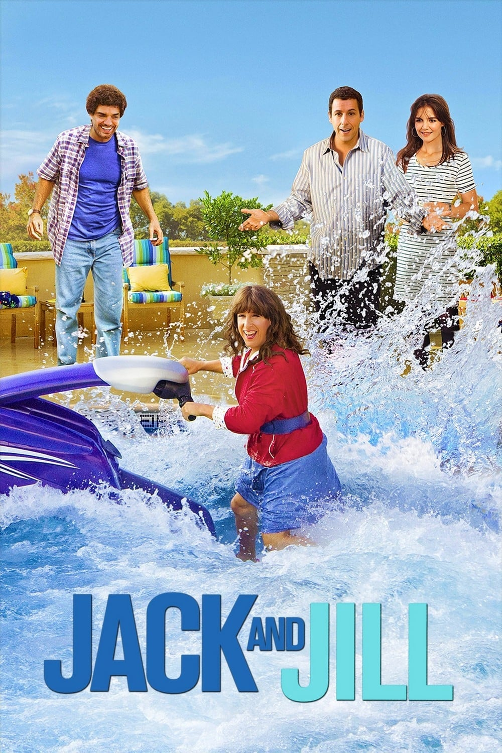 Jack and Jill 2011  Posters  The Movie Database TMDb