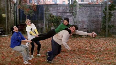 Resultado de imagen de friends thanksgiving football game