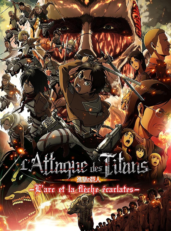 L'Attaque des Titans : L'Arc et la flèche écarlates