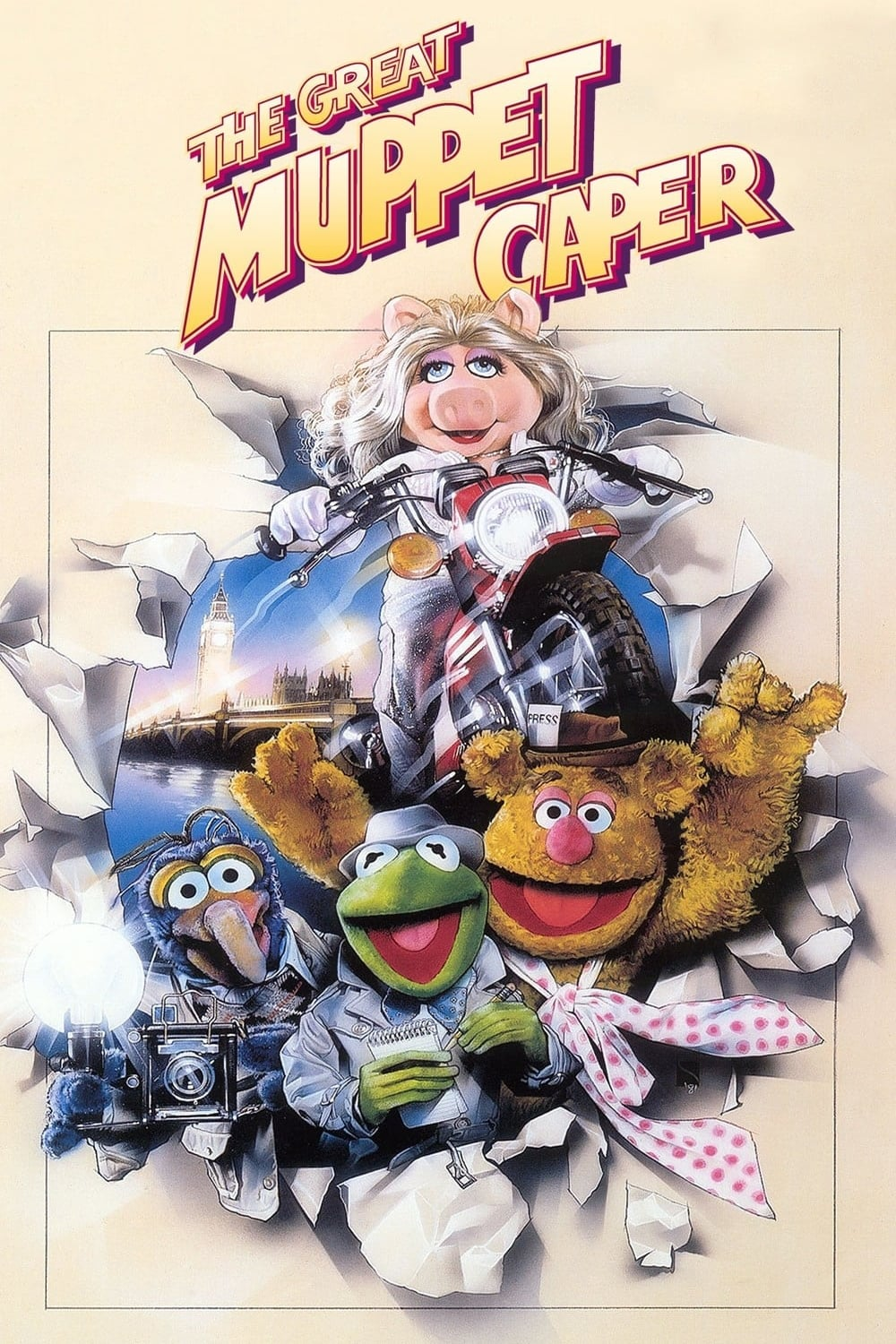 Poster The Great Muppet Caper 1981