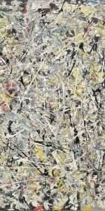 Details of Pollock's White Light