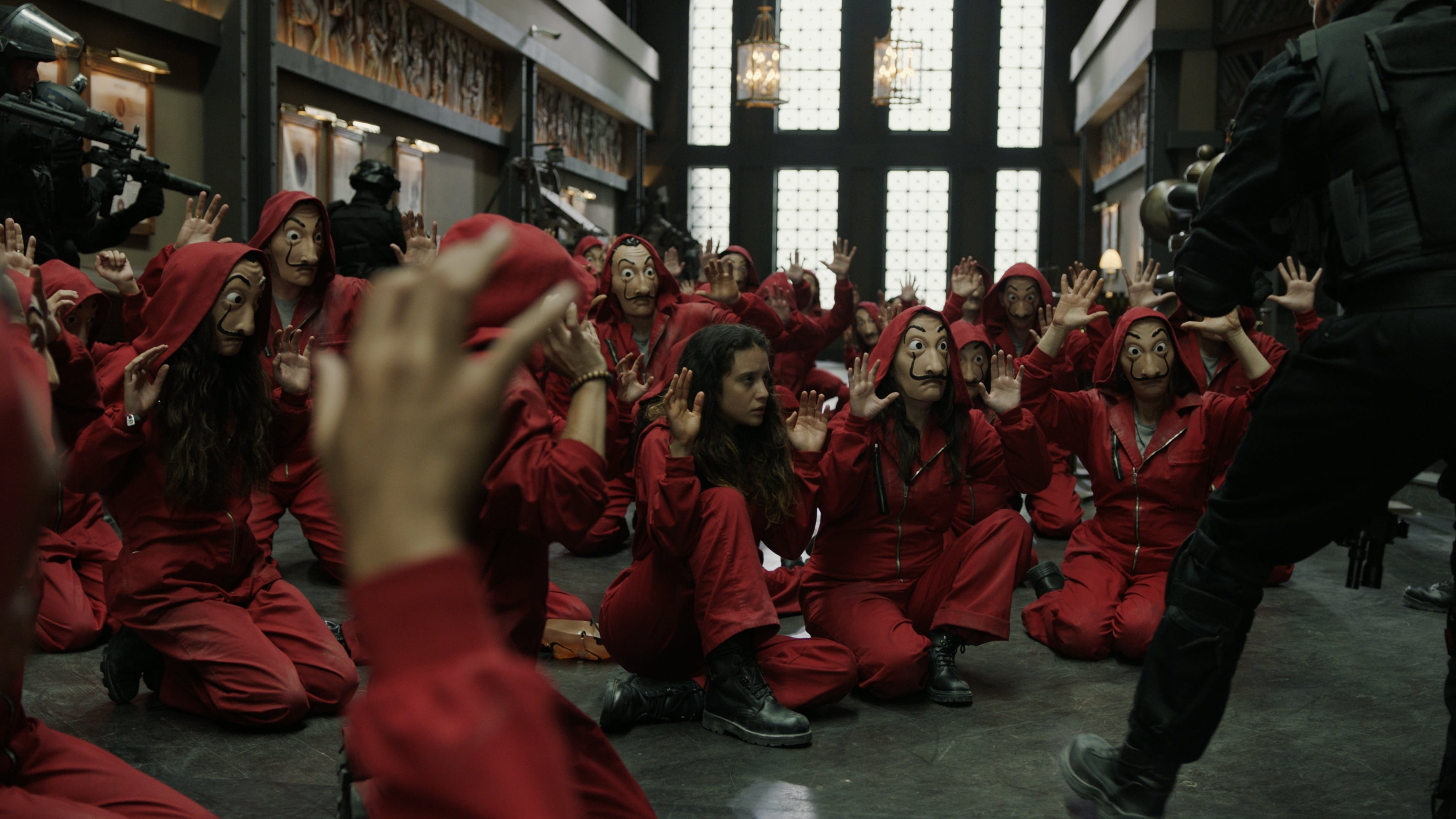 Money Heist Season 3 Cast - Idee per la decorazione di interni