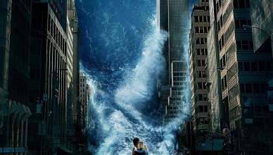 "Poster for the movie ""Tempestade: Planeta em Fúria"""
