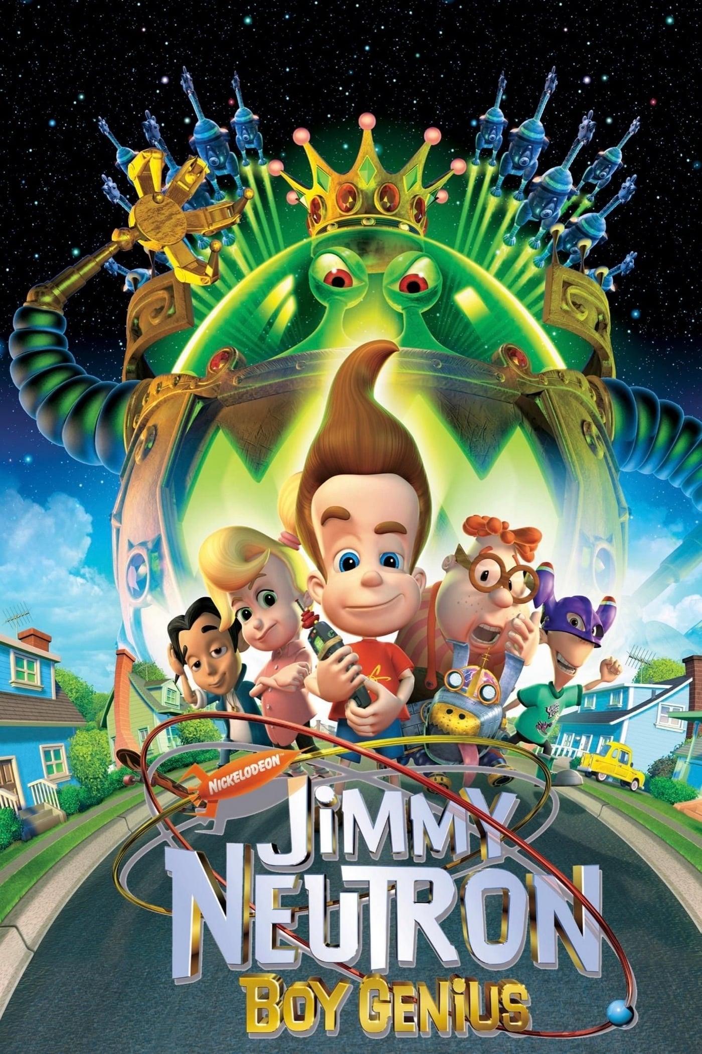 Jimmy Neutron Boy Genius 2001 Posters The Movie