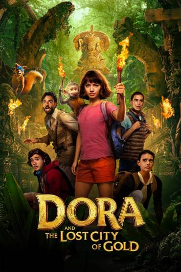 Download Dora and the Lost City of Gold (2019) Dual Audio {Hindi-English} 480p [400MB] || 720p [800MB] || 1080p [2.4GB]