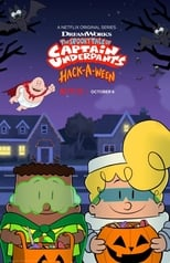 The Spooky Tale of Captain Underpants Hack-a-ween poster