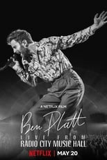Ver Ben Platt: Live from Radio City Music Hall (2020) online gratis