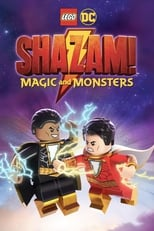LEGO DC: Shazam! Magic and Monsters poster