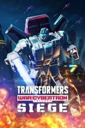 Portada Transformers: Trilogía de la guerra por Cybertron: Asedio