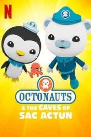 Portada Los Octonautas y las cuevas de Sac Actun