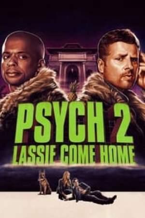Portada Psych 2: Lassie Come Home