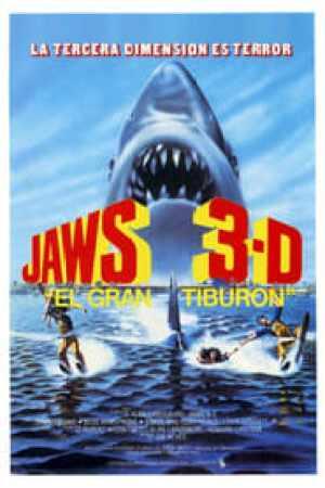Portada Tiburón 3-D: El Gran Tiburón