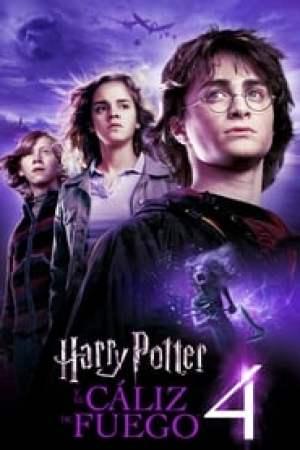 Portada Harry Potter y el cáliz de fuego