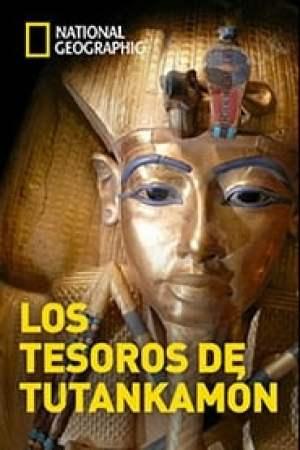 Portada Los tesoros de Tutankamón