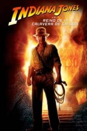 Portada Indiana Jones y el reino de la calavera de cristal