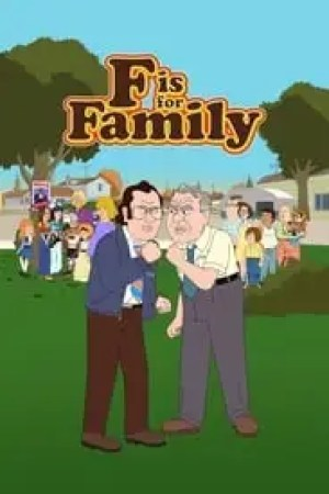 Portada F is for Family