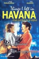 Things I Left in Havana 1998