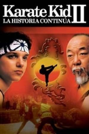 Portada Karate Kid II, la historia continúa