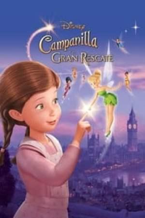 Portada Campanilla y el gran rescate