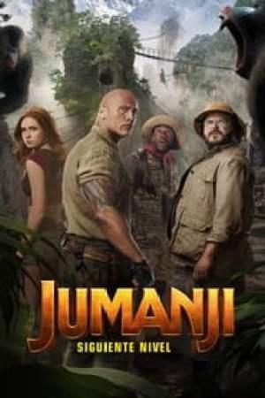Portada Jumanji: Siguiente nivel