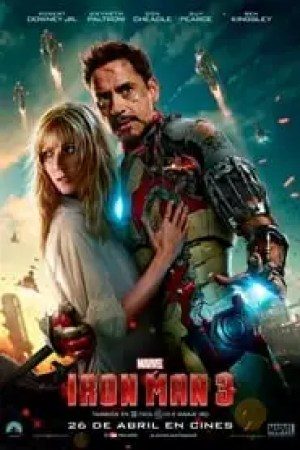 Portada Iron Man 3