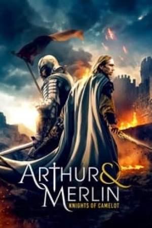 Portada Arturo y Merlín: Caballeros de Camelot