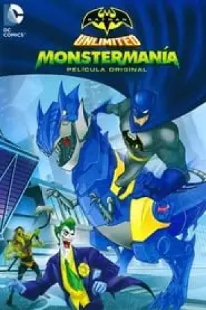 Portada Batman Unlimited: Monstermania