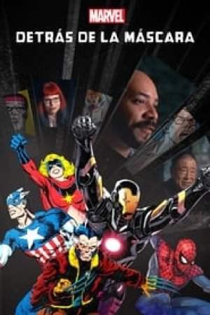 Portada Marvel detrás de la máscara