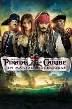 Portada Piratas del Caribe: En mareas misteriosas
