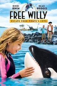 poster Free Willy: Escape from Pirate's Cove
