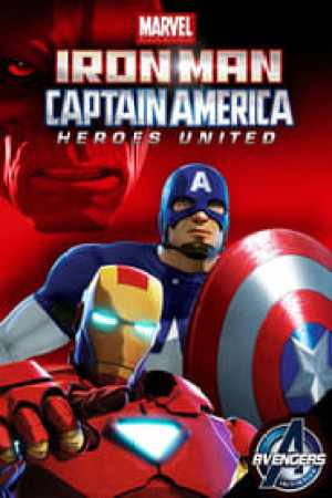 Portada Iron Man y Capitán América: Héroes Unidos 2 - El Reinado de Red Skull