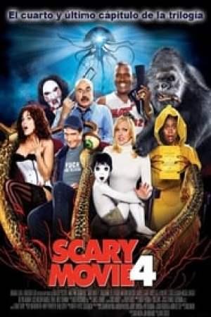 Portada Scary Movie 4