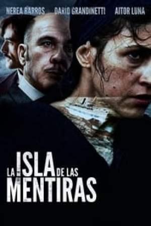 Portada La isla de las mentiras
