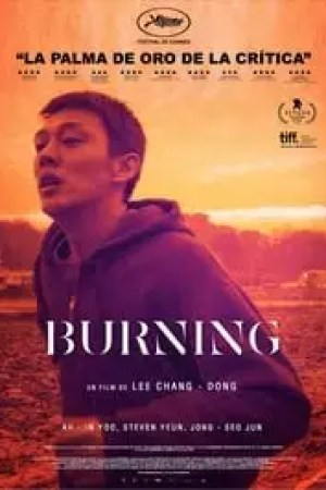 Portada Burning
