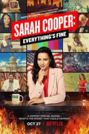 Portada Sarah Cooper: Everything's Fine