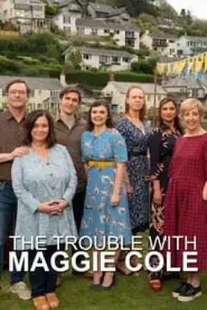 Portada The Trouble with Maggie Cole