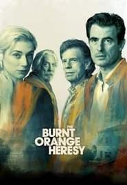 The Burnt Orange Heresy Portada
