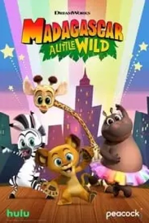 Portada Madagascar: A Little Wild
