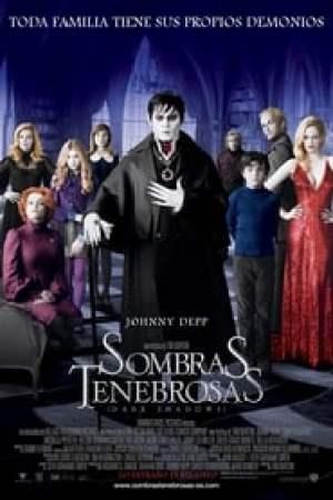 Portada Sombras tenebrosas (Dark Shadows)