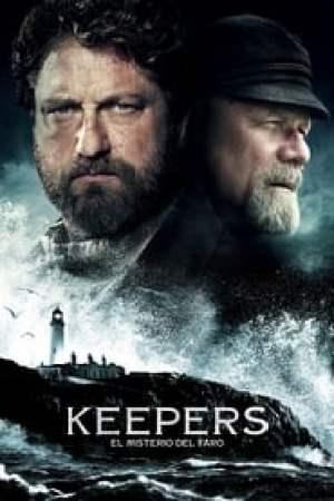 Portada Keepers: El misterio del faro