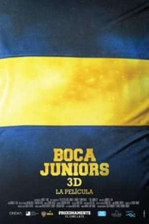 Portada Boca Juniors 3D, la película