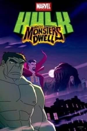 Portada Hulk, Donde Habitan Los Monstruos