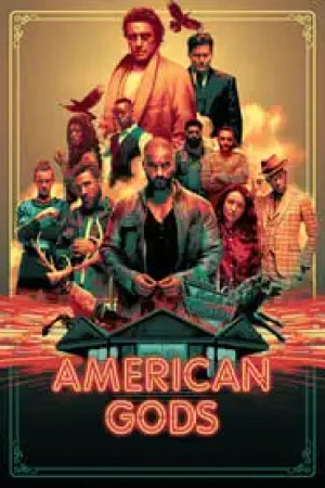 Portada American Gods