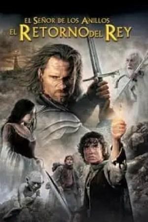 Portada El señor de los anillos: El retorno del Rey