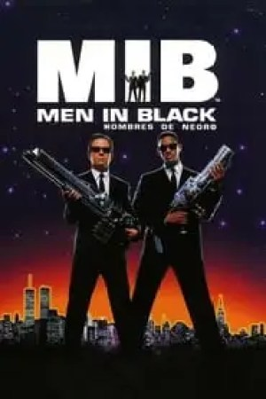 Portada Men in Black (Hombres de negro)