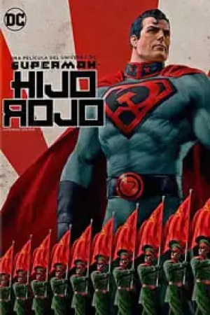 Portada Superman: Hijo Rojo