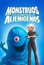 Monstruos contra alienígenas Portada