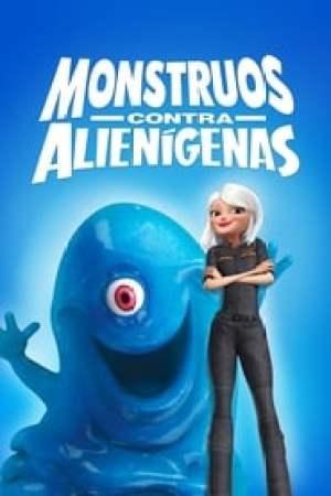Portada Monstruos contra alienígenas